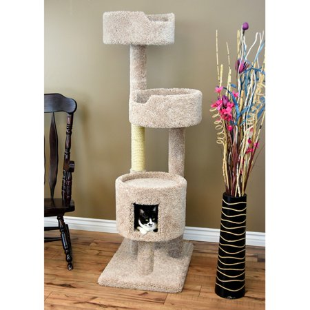 New Cat Condos Cat Tree Penthouse 64 inch,