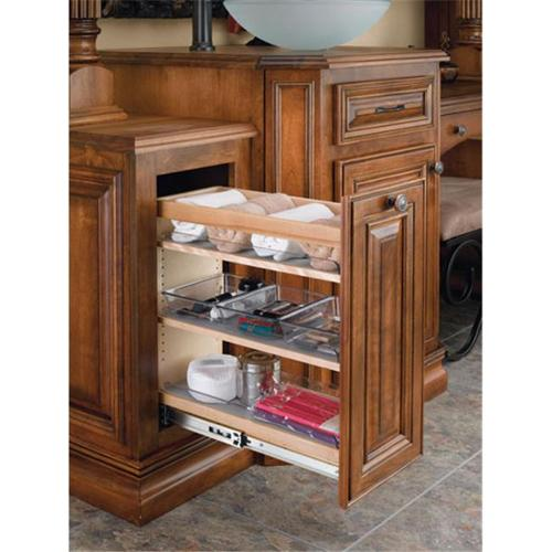 Rev-A-Shelf RS448. VC25. 8 25. 5 inch H Vanity Base Pullout