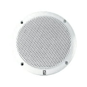 Set of 2 White MA4056 5 2-Way Coax Integral Grill Marine Speakers 15""
