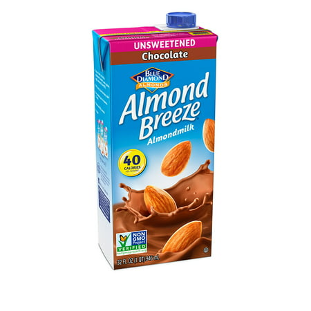 (4 pack) Almond Breeze Almondmilk, Unsweetened Chocolate, 32 fl oz ()