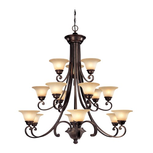 Dolan Designs Brittany 15-Light Shaded Chandelier