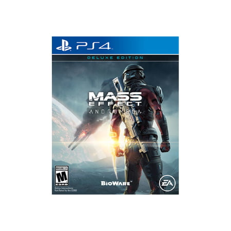 Mass Effect Andromeda Deluxe Edition, Electronic Arts, PlayStation 4,