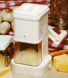 Cheese Grater For Hard Cheese With Cheese Storage Container