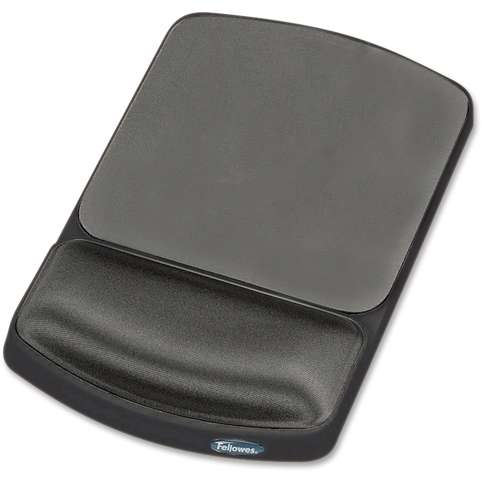 Fellowes, FEL91741, Gel Wrist Rest and Mouse Pad - Graphite/Platinum, 1, Platinum,Graphite