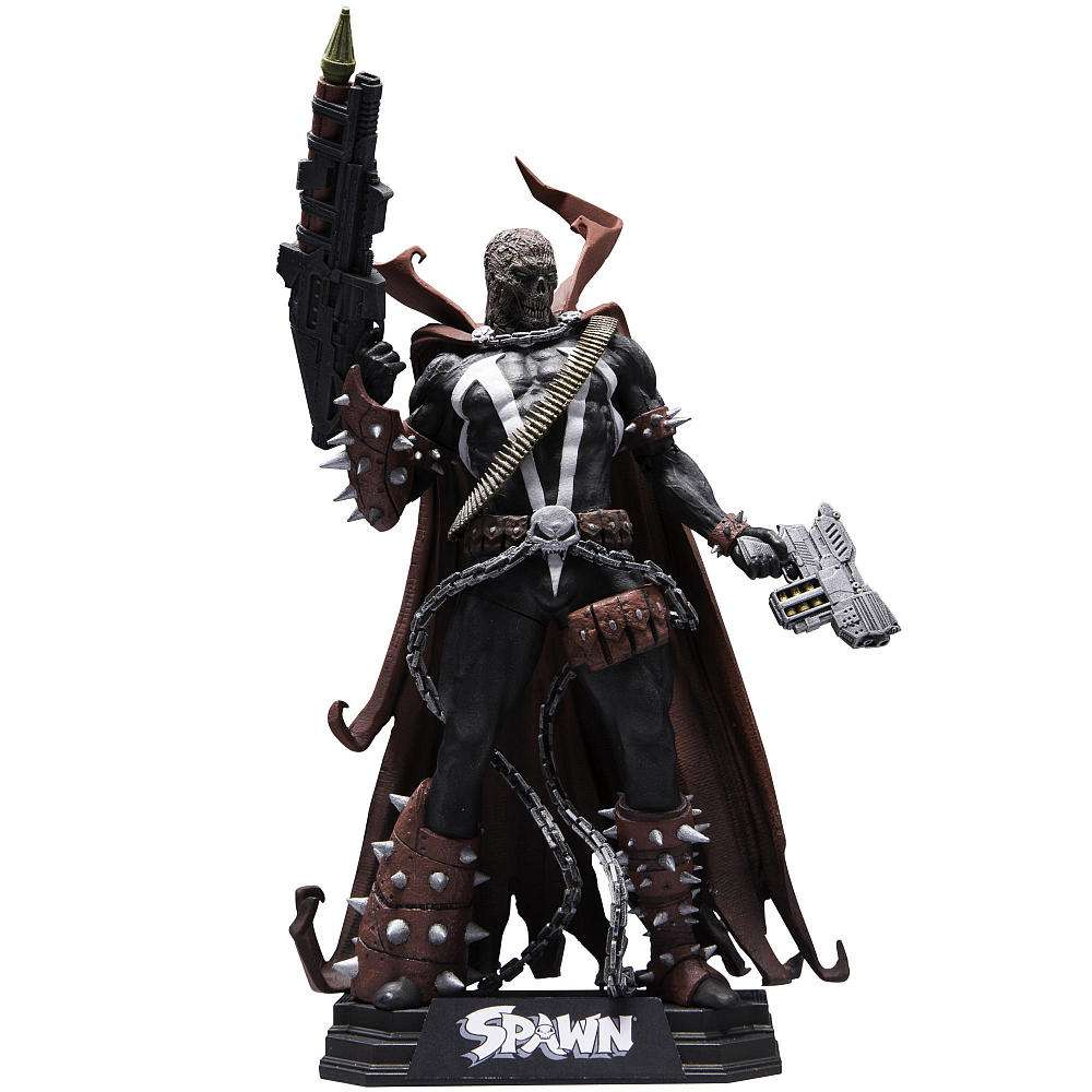 McFarlane Color Tops Blue Wave Spawn Action Figure [Unmasked] by