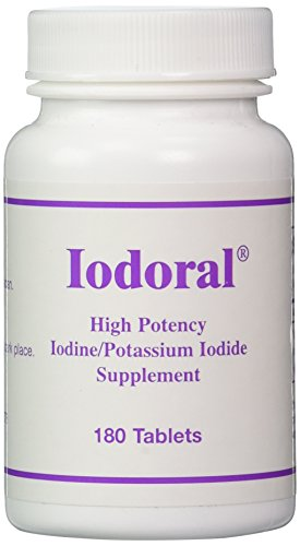 Click here to buy Optimox Iodoral High Potency Iodine Potassium Iodide Thyroid Support Supplement 180 tablets by Optimox.