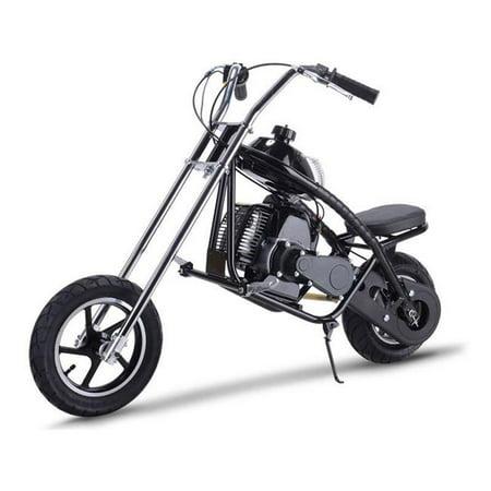 MotoTec MT-MC-Black 49cc Gas Mini Chopper - Black