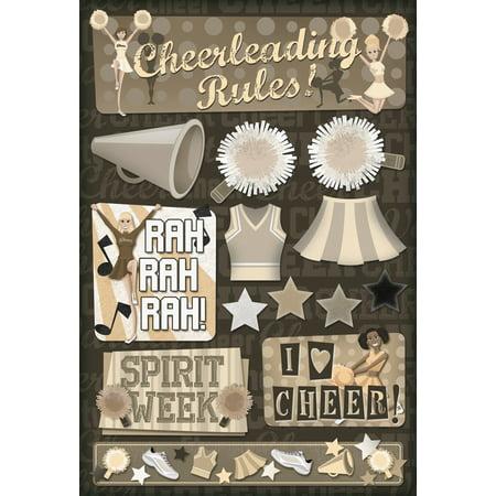 Cardstock Stickers Spirit