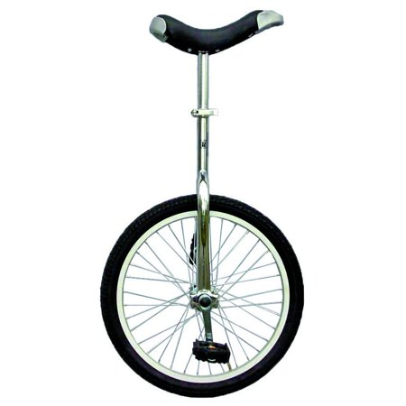"Chrome 20"" Unicycle with Alloy Rim"