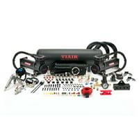 VIAIR 485C Gen 2 200 PSI Dual Onboard Air System Electric Compressor Kit, Black