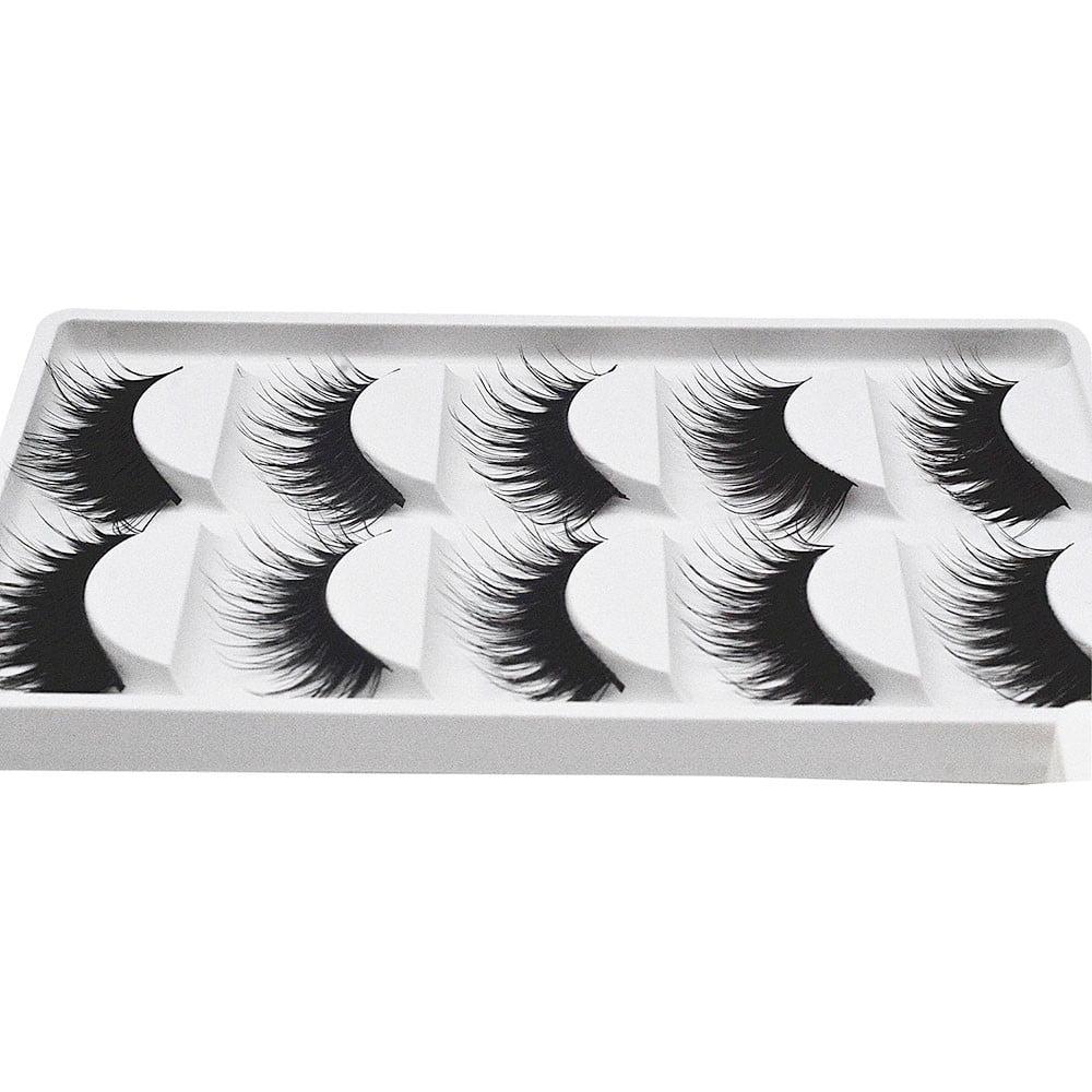 Tuscom Big sale! 5 Pair/Lot Crisscross False Eyelashes Lashes Voluminous Hot Eye Lashes
