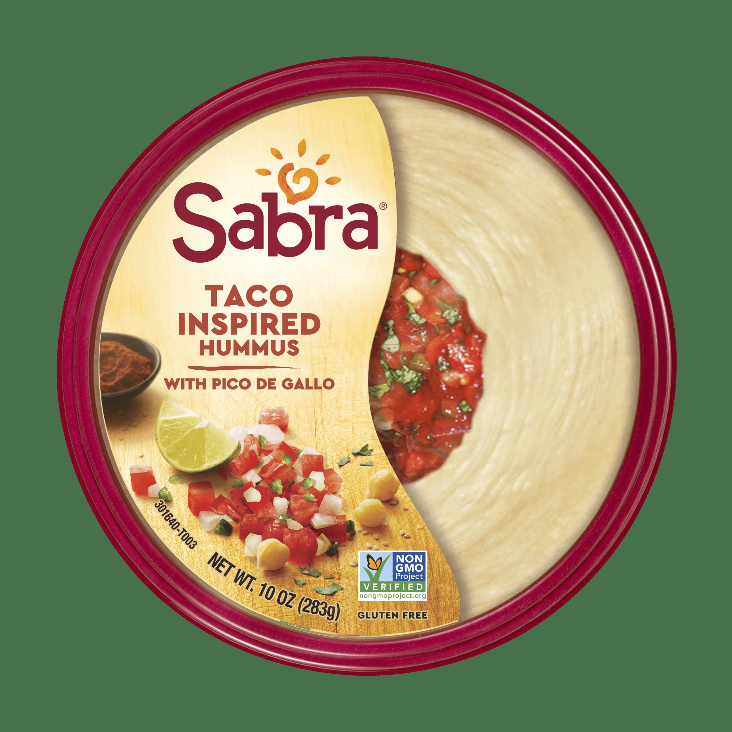 Sabra Taco Inspired Hummus with Pico de Gallo, 10.0 OZ