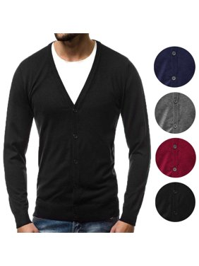 7ffed8e41 Mens Cardigans   Zip-up Sweaters - Walmart.com
