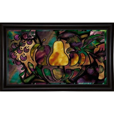 Fleur De Lis Living 'Stained Glass Fruit' Graphic Art Print - Easter Fruit