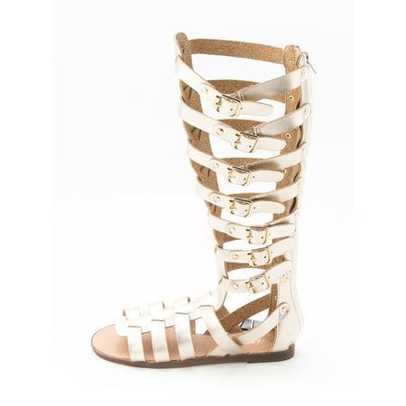 8a8864c0067 Madden Girl Women's Penna Tall Gladiator Sandal