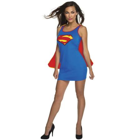 supergirl tank dress adult costume (Super Girl Costume Adult)