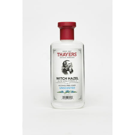 Henry Thayer Company, Thayers Witch Hazel Unscented Toner, 12 fl oz