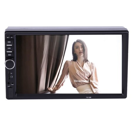 Touch Lcd Screens - 7\'\' 2 DIN In Dash LCD HD Bluetooth Touch Screen Car Stereo Radio MP3 Player AUX with LED/LCD Colorful Display