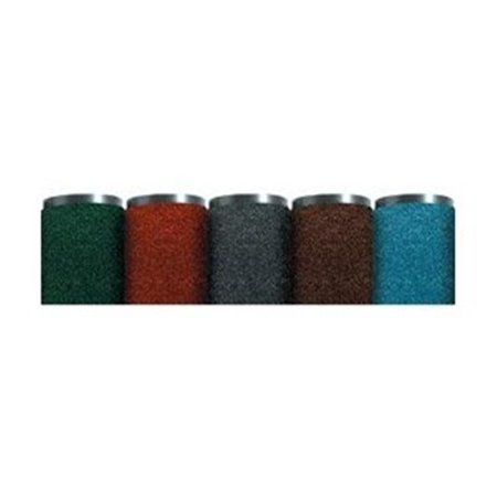 box partners mat349be 4 foot x 6 foot blue economy vinyl carpet mat