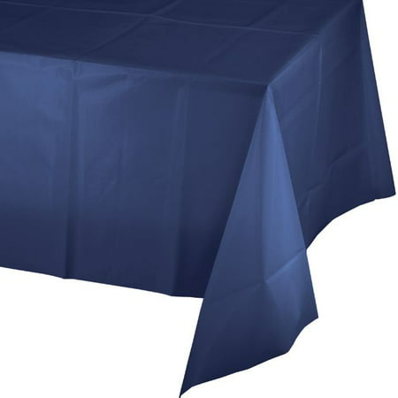 Touch of Color Plastic Tablecover, 54