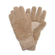 Women's Chenille with Suede Palm Gloves