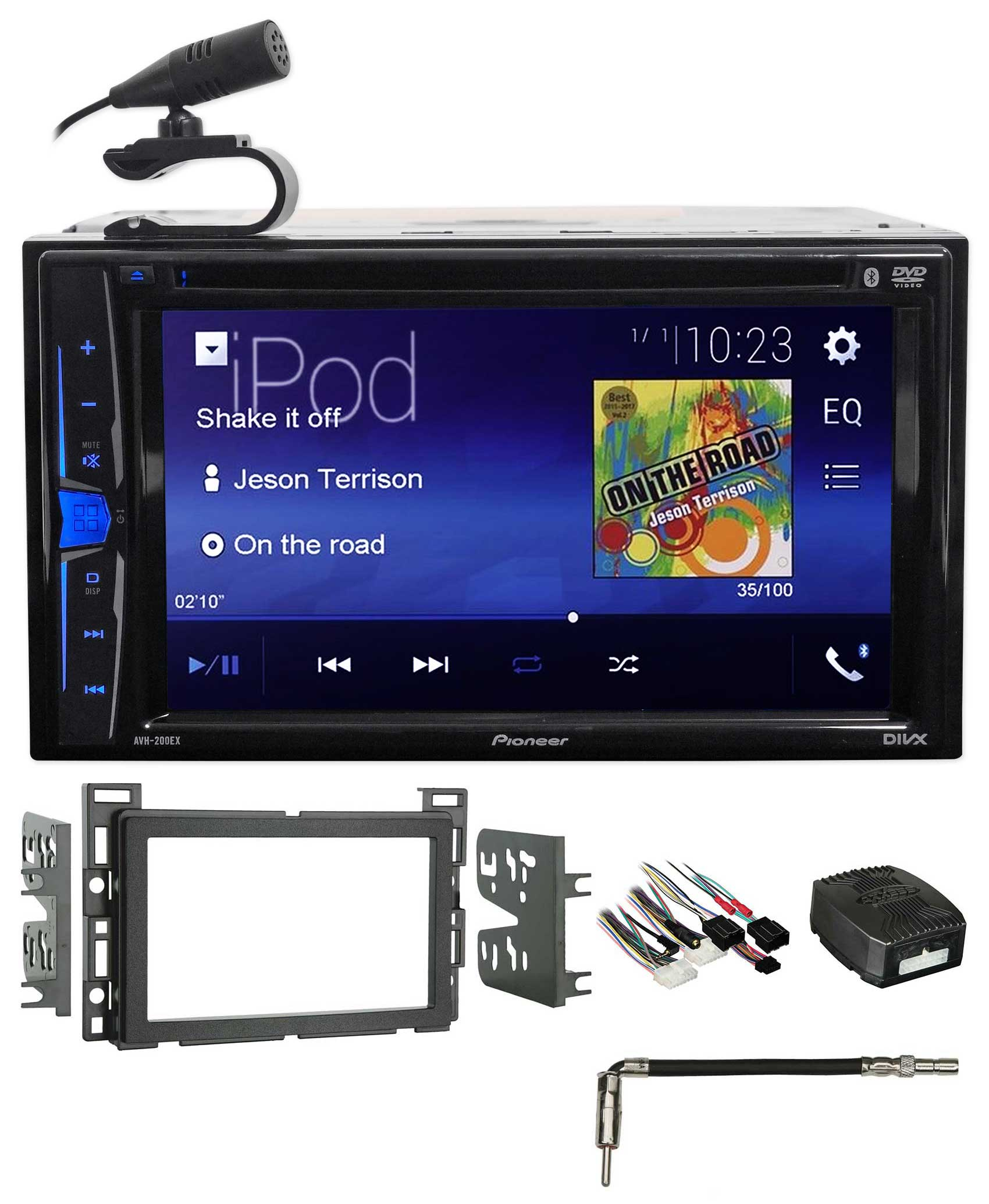 Pioneer DVD Bluetooth Receiver iPhone Android USB For 2008-12 Chevrolet Malibu by Pioneer