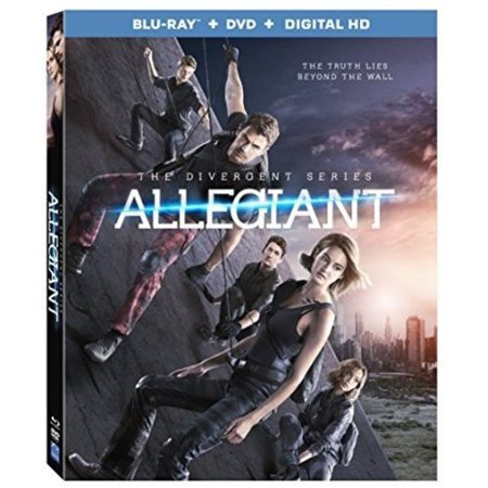 The Divergent Series  Allegiant  Blu Ray   Dvd