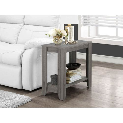 Grey Accent Table by