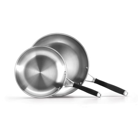 Select By Calphalon Stainless Steel Nonstick 8 Inch And 10