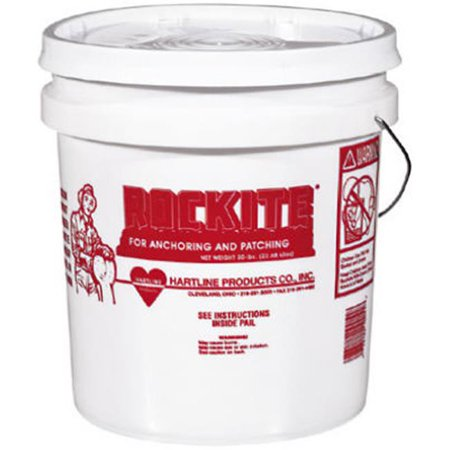 ROCKITE Expansion Cement,50 lb.,Pail,Gray (Rockite Anchoring Cement)