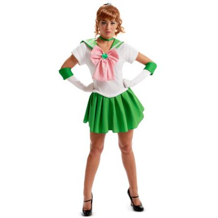 Sailor Moon Jupiter Sexy Adult - Secy Sailor Costume