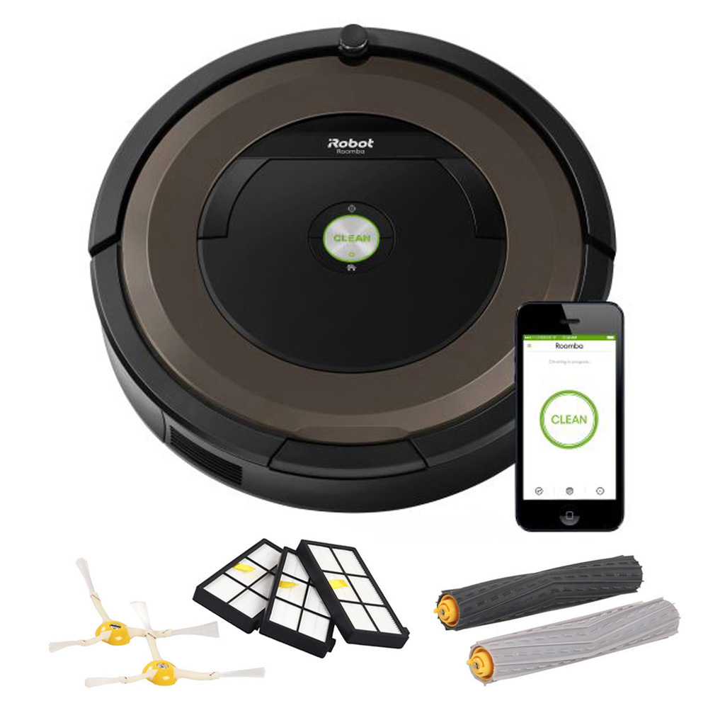 Roomba 890 w  iRobot Roomba 800 and 900 Series Replenishment Kit by iRobot