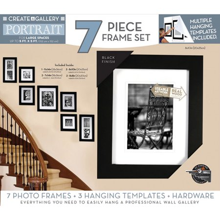 pinnacle create a gallery portrait 7 piece set