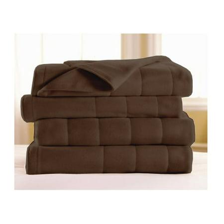 Sunbeam Electric Heated Fleece Blanket Royal Dreams - Twin Full Queen - Queen Size Electric Blankets