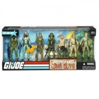 G.I. Joe Exclusive Action Figure Boxed Set Assault On Cobra Island