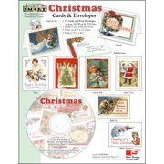 ScrapSMART Christmas Cards Cards and Envelopes CD-ROM