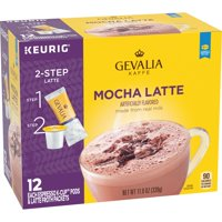 Gevalia Mocha Latte K-Cup Coffee Pods, 12 Ct Box