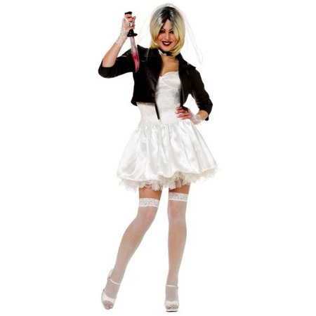 Chucky Costume For Adults (Sexy Chucky Bride Costume For)
