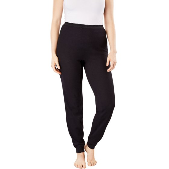 42514f028c7 Comfort Choice - Plus Size Thermal Lounge Pant By Comfort Choice -  Walmart.com