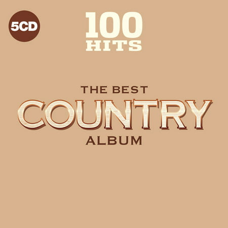 100 Hits: The Best Country Album (CD) (Finland Best Country In The World 2019)
