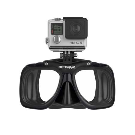 Octomask 1: Scuba & Snorkeling Mask with GoPro