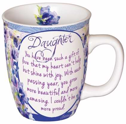 Carson Home Accents 92374 Mug-You Are Loved-Daughter With Gift Box