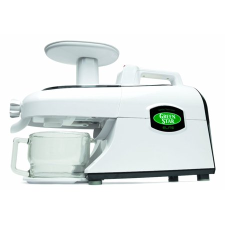 Tribest Greenstar Elite GSE-5000-B Twin Gear Juicer, White