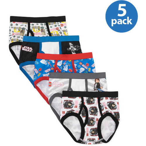 LEGO Star Wars Boys' Underwear Set, 5 Pack