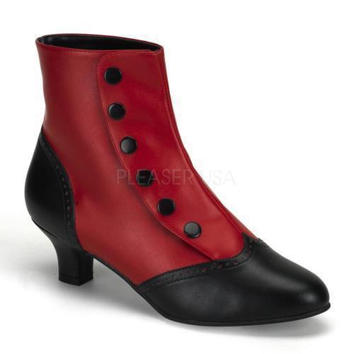 Bordello Boots Flora FLO1023/RB/PU Size: 11