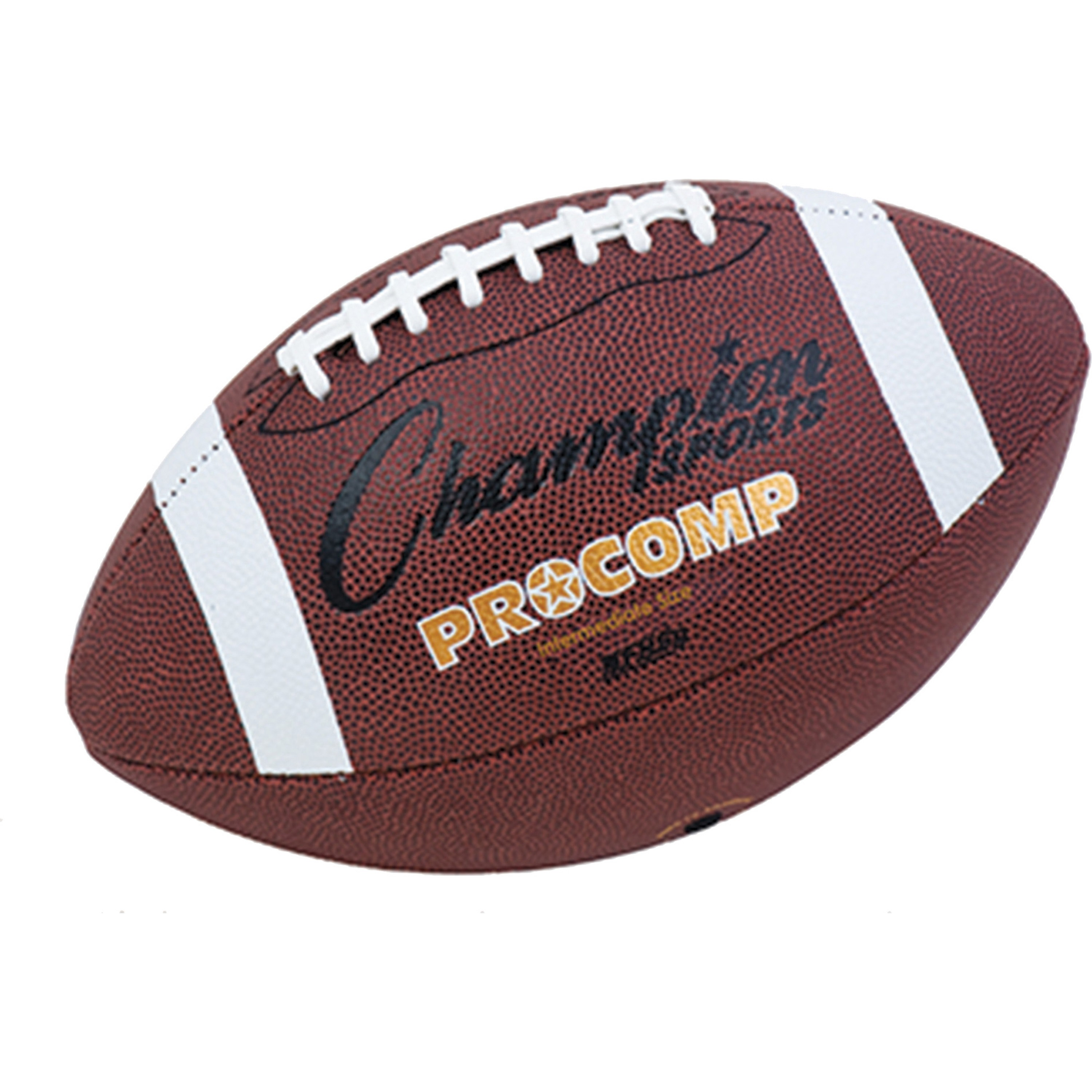 Champion Sport, CSICF200, Intermediate Size Pro Comp Football, 1 Each, Brown
