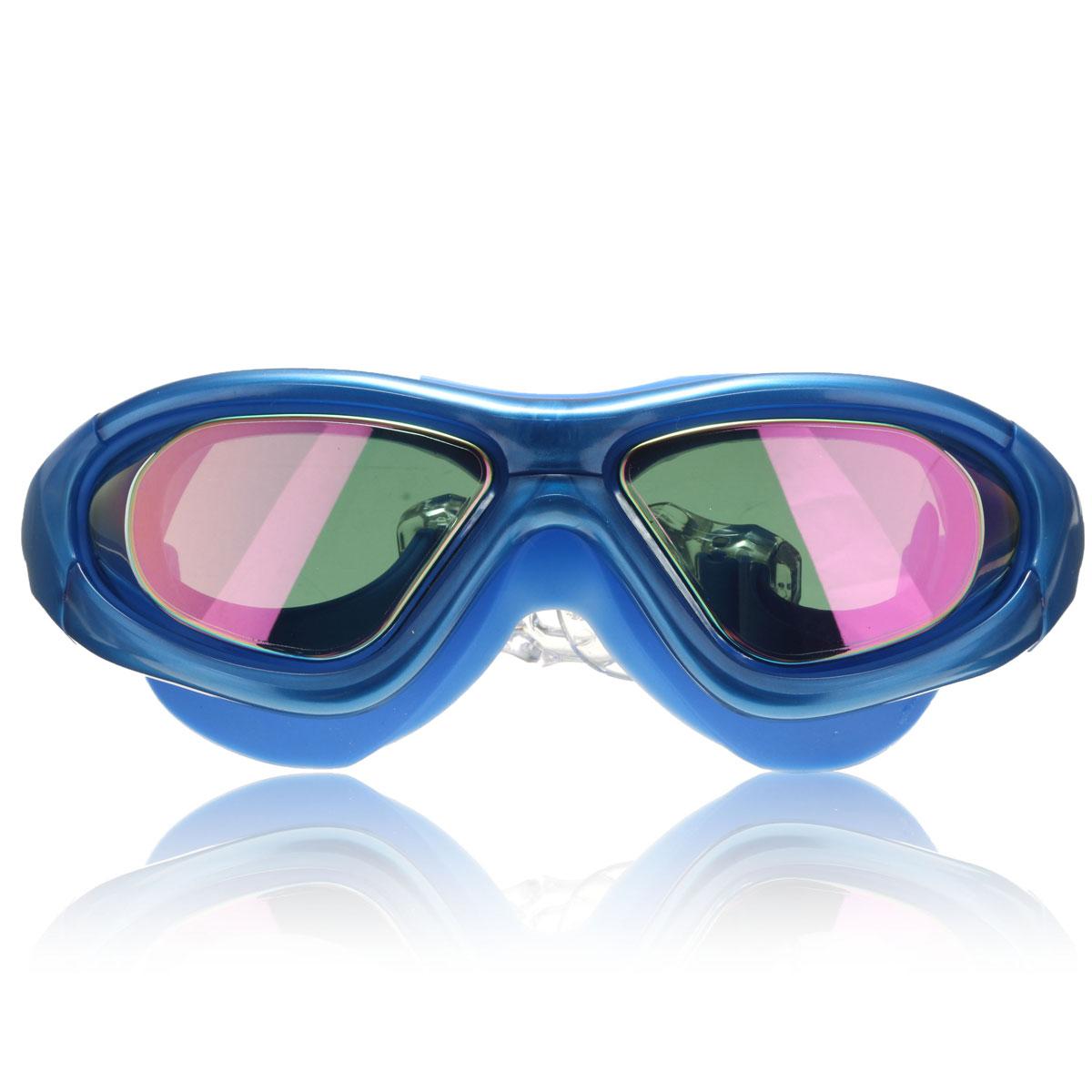 Non-Fogging Anti UV Swimming Swim Goggle Glasses Adjustable Eye Protect Adult CW