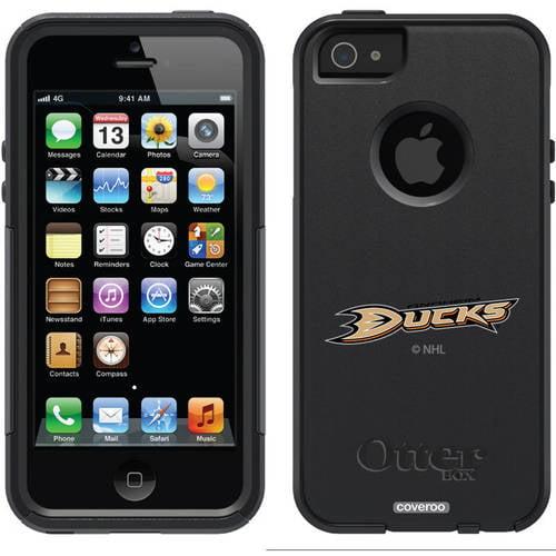 Anaheim Ducks Primary Logo Design on OtterBox Commuter Series Case for Apple iPhone 5/5s