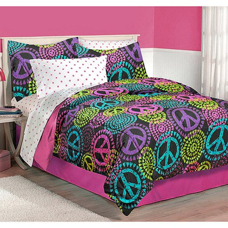 Splatter Paint Bed Set