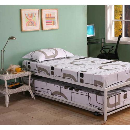 e04441e3f1b3e Zoomie Kids Josef Twin Platform Bed with Trundle - Walmart.com